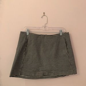 Urban outfitters checked skirt